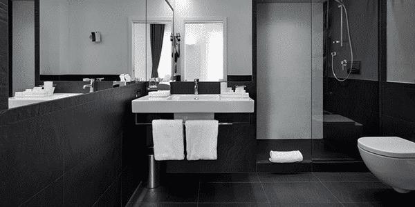 Pedra Ardósia no Banheiro