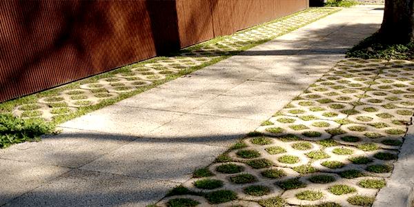 Calçada Concregrama