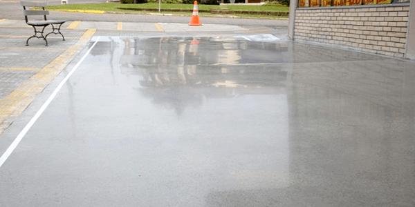 Calçada de Cimento Queimado