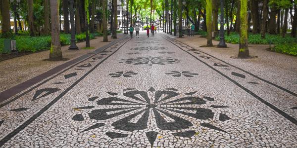 Mosaico Português no Centro Histórico, Curitiba