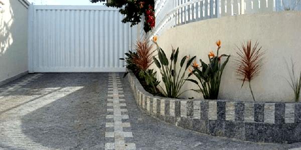 Piso ou Pedra para Garagem - Pedra Miracema