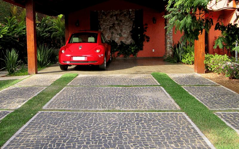 Obras com Pedra Portuguesa Preta