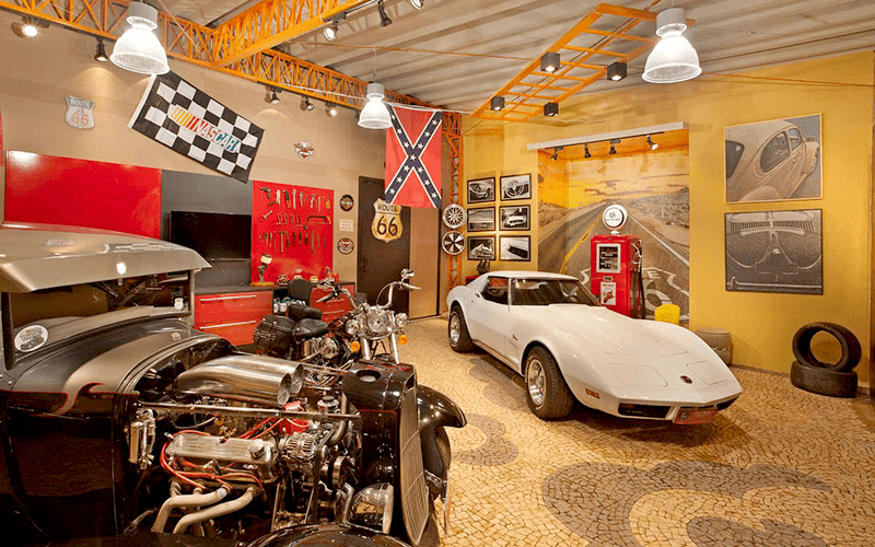 4 Opções de Piso ou Pedra para Garagem
