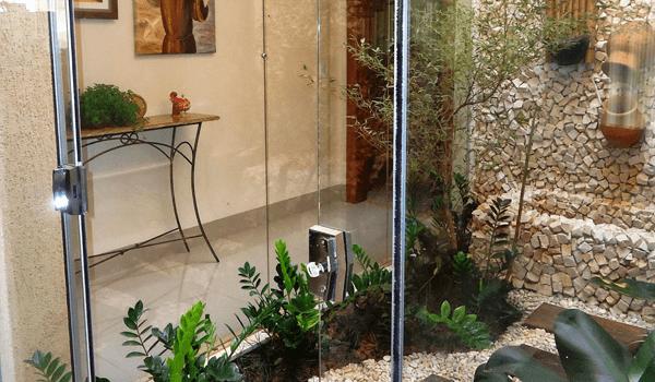 Jardim de Inverno com Pedra Portuguesa